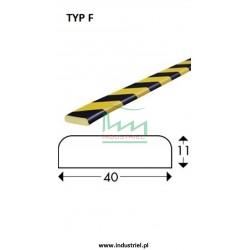 Odbojnik elastyczny profil ochronny Typ F 1mb