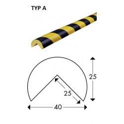 Odbojnik elastyczny profil ochronny Typ A 1mb
