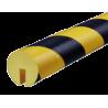 Odbojnik elastyczny profil ochronny Typ B+ 1mb
