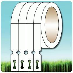 IESZ-04 Etykiety pętlowe, szkółkarskie, pętelki do oznaczania roślin, 1,7x20cm, pomarańczowe, 1,2 tyś. szt.