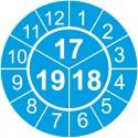 TYP-3: dwudzielne, lub trójdzielne, z 2-cyfrowym oznaczeniem 2-3 lat i 12 miesięcy dookoła