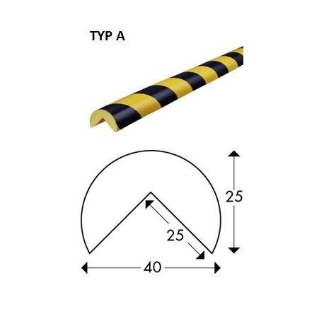 Odbojnik elastyczny profil ochronny Typ A 5mb