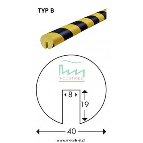 Odbojnik elastyczny profil ochronny Typ B 1mb