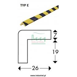 Odbojnik elastyczny profil ochronny Typ E 1mb