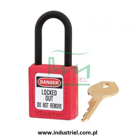 Kłódka Lockout Masterlock 406 z nylonowym kabłąkiem 38mm