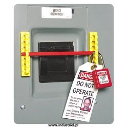 Blokada Lock Out nietypowych wyłączników prądu