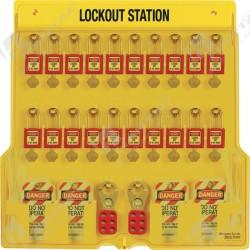 Stacja Lockout/Tagout, na sprzęt LOTO (pusta stacja)