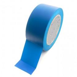 Taśma do oznaczania podłóg, samoprzylepna, niebieska o szer: 50mm i dł: 33m