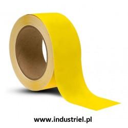 Taśma do oznaczania podłóg, samoprzylepna, żółta o szer: 50mm i dł: 33m TDP-50x33-YL