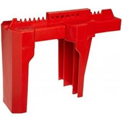 800111 Blokada zaworów kulowych PRINZING, duża, czerwona