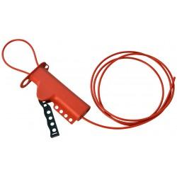 050943 BRADY Lockout: Wielofunkcyjna blokada linkowa z linką stalową 2,44m