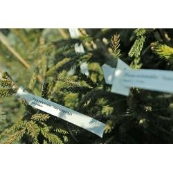 IESZ-03 Etykiety pętlowe, szkółkarskie, pętelki do oznaczania roślin, 1,7x20cm, białe, 1,2 tyś. szt.