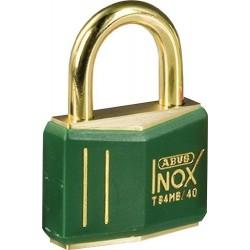 Kłódka mosiężna BRADY, Ex ATEX, zielona, z kabłąkiem 21mm, różne klucze