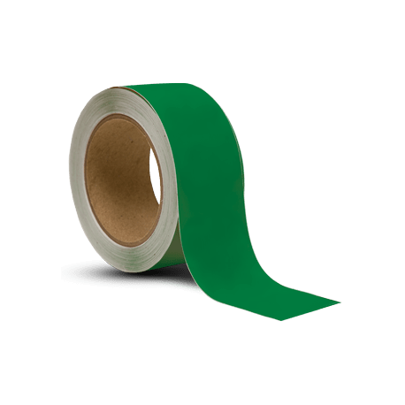 Taśma do oznaczania podłóg, samoprzylepna, zielona o szer: 50mm i dł: 33m TDP-50x33-GN