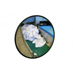 Lustro obserwacyjne EUVEX Ø 30 cm, akrylowe, z elastycznym uchwytem do ściany