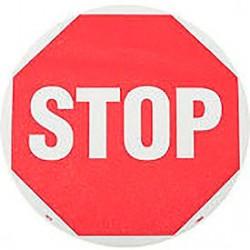 Naklejka podłogowa STOP