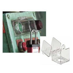 Blokada Lockout na przyciski sterownicze, stacyjki, grzybki bezpieczeństwa Masterlock S2153