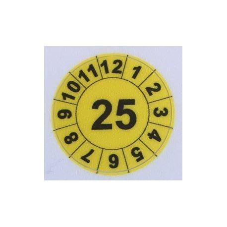 Etykiety inspekcyjne Industriel